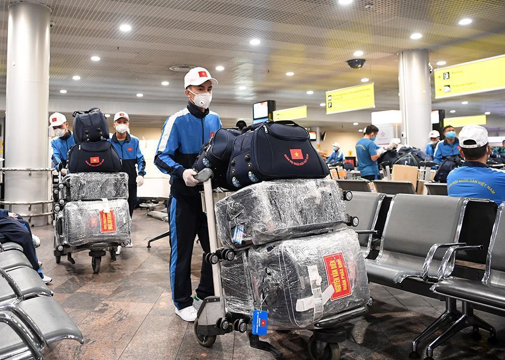 Đội tuyển quân đội đến Nga tranh tài hội thao quốc tế