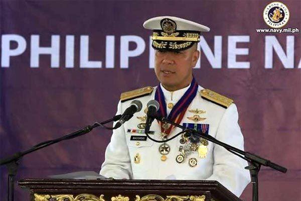 Phó đô đốc hải quân Philippines tố Trung Quốc 'khiêu khích' ở Biển Đông