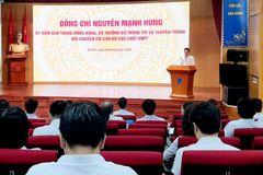 Toàn văn phát biểu của Bộ trưởng Nguyễn Mạnh Hùng tại buổi làm việc về chuyển đổi số với Tập đoàn VNPT