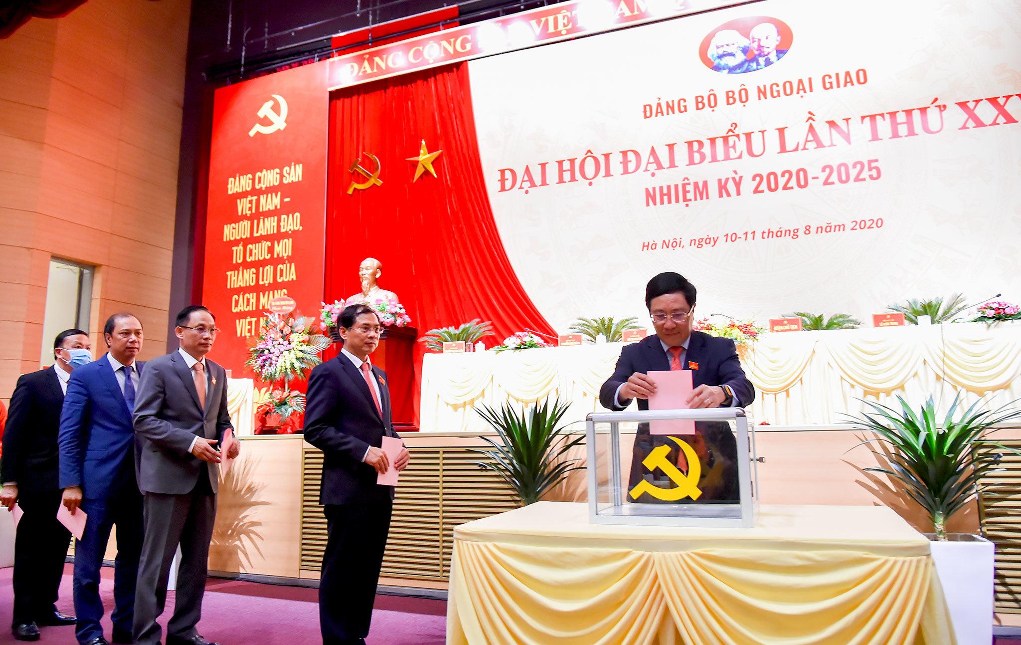 Ông Bùi Thanh Sơn giữ chức Bí thư Đảng ủy Bộ Ngoại giao