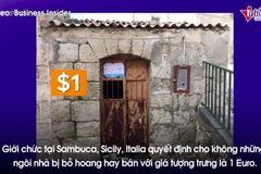 Bí mật không ngờ sau những căn nhà một đô ở Italia