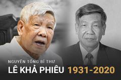 Lãnh đạo các nước gửi lời chia buồn về sự ra đi của nguyên Tổng Bí thư Lê Khả Phiêu