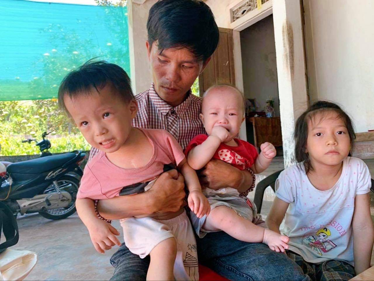 Cảnh ngặt nghèo của người đàn ông 43 kg có con cần mổ tim, em câm điếc