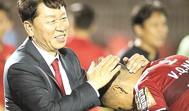 Coach Chung backto leadHCM City FC