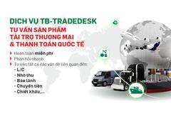 VPBank lập quầy tư vấn online thanh toán quốc tế, tài trợ thương mại