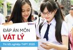 Đáp án môn Vật lý chính thức thi tốt nghiệp THPT 2020 của Bộ GD-ĐT