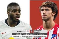 Xem trực tiếp Leipzig vs Atletico Madrid ở kênh nào?