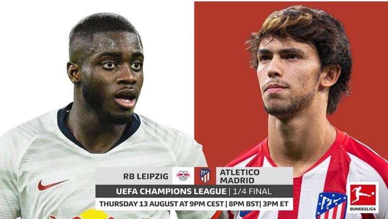 Xem trực tiếp Leipzig vs Atletico Madrid ở kênh nào? - xổ số ngày 13102019
