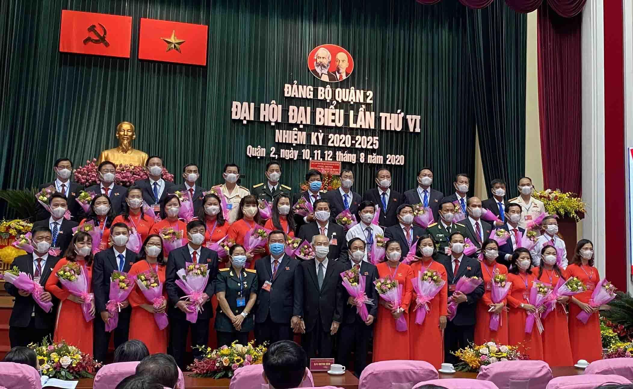Ông Nguyễn Phước Hưng được bầu giữ chức Bí thư Quận ủy quận 2