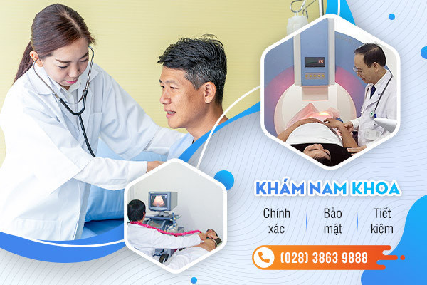 Khám bệnh nam khoa chi phí hợp lý ở Đa khoa Hồng Cường TP.HCM