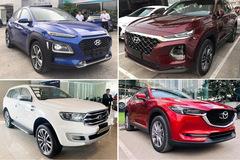 TOP 5 xe SUV và Crossover bán chạy nhất tháng 7