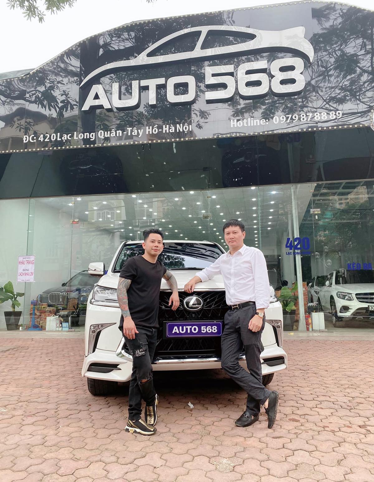 CEO Đào Nguyên - doanh nhân nổi tiếng với việc bán xế sang cho nghệ sĩ Việt