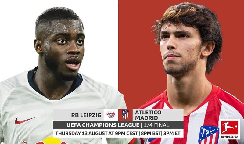Atletico Madrid vs RB Leipzig: Chiến thắng dành cho kẻ bản lĩnh