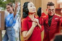 Sao Việt quyên góp khẩu trang, hát cổ vũ bác sĩ chống dịch Covid-19