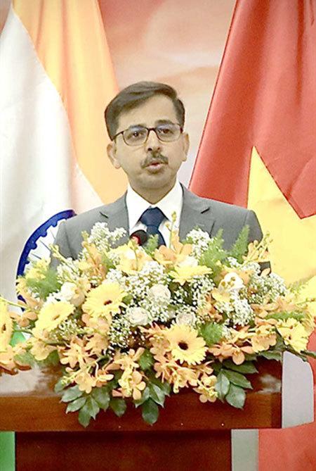 Indian ambassador hails partnership with VN in global integration