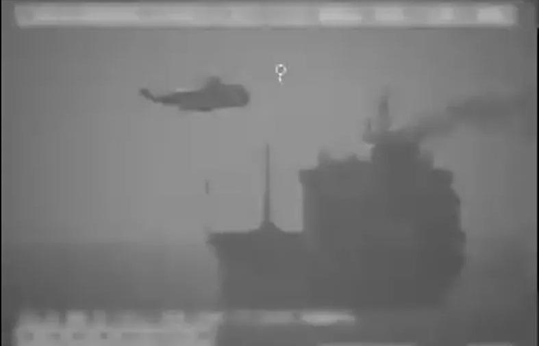 Mỹ tố hải quân Iran 'lên tàu nước ngoài' trên vùng biển quốc tế