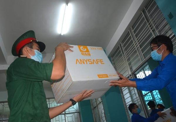 80 tonnes of medical supply provided to Da Nang