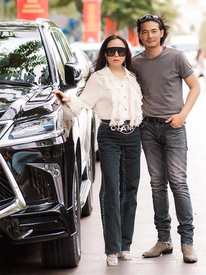 Bật mí vợ doanh nhân giàu có hơn 7 tuổi của Quách Ngọc Ngoan