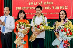 Passion for chemistry helps Hai Phong student set gold standard