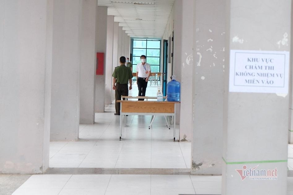 Lưu ý giáo viên chấm thi bảo mật thông tin bài thi của thí sinh