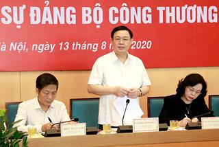 Ông Vương Đình Huệ: Đưa Hà Nội thành địa phương đứng đầu về thương mại điện tử