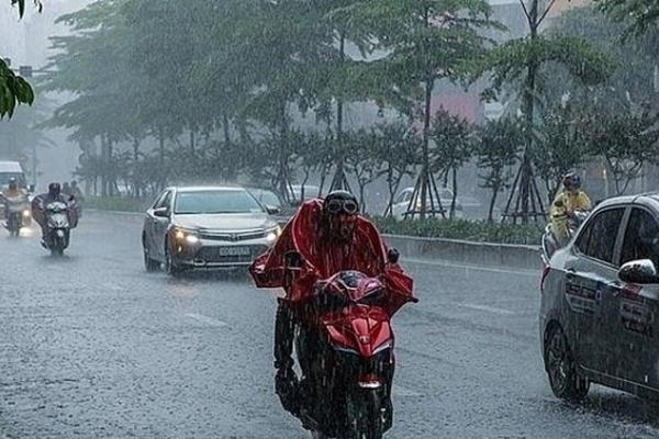 Dự báo thời tiết 14/8, Hà Nội mưa rào