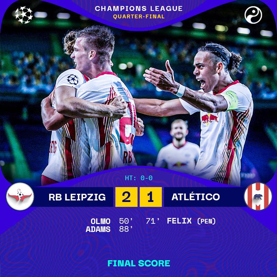Xác định cặp bán kết đầu tiên của Champions League