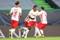 RB Leipzig gây địa chấn, loại Atletico Madrid ra khỏi cup C1