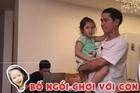 Phản ứng đáng yêu của Hồ Hoài Anh với con gái 4 tuổi