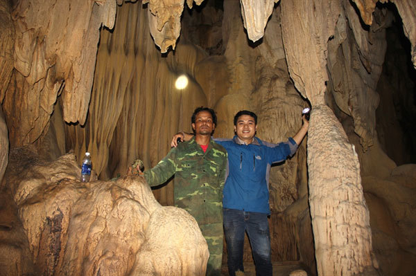 New cave discovered in Quang Tri