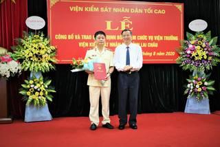 Ông Nguyễn Hồng Quân làm Viện trưởng Viện KSND tỉnh Lai Châu