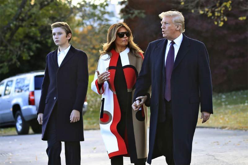 Quý tử Barron Trump điển trai và cuộc sống khác biệt trong Nhà Trắng