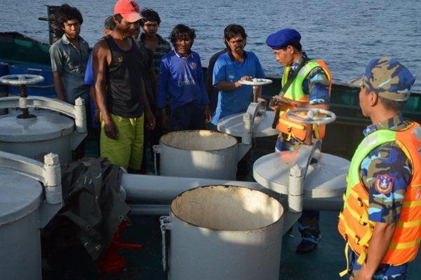 Vùng CSB 4: Thực hiện tốt nhiệm vụ duy trì, thực thi pháp luật trên biển, kiên quyết đấu tranh với tội phạm