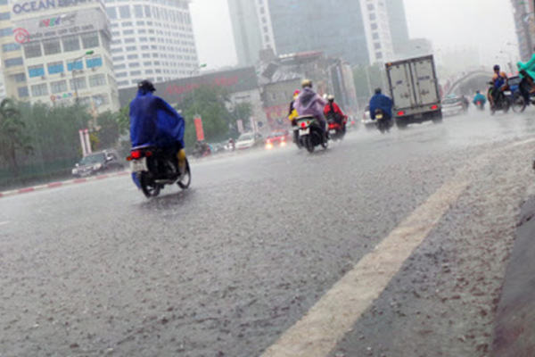 Miền Bắc mưa to, nhiều nơi nguy cơ lũ quét