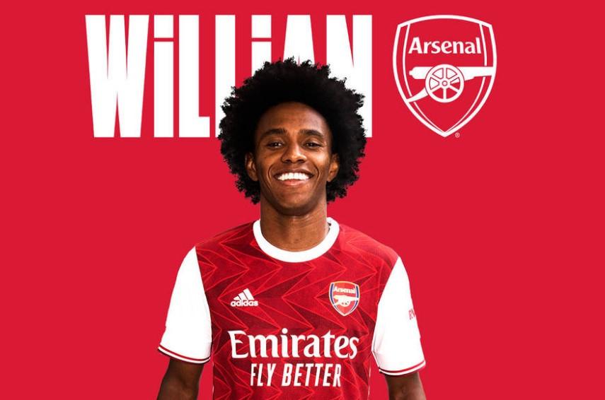 Choáng với mức lương Willian sắp nhận tại Arsenal