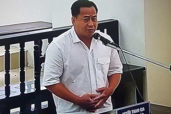 Bị cáo Trương Duy Nhất bị tuyên y án 10 năm tù