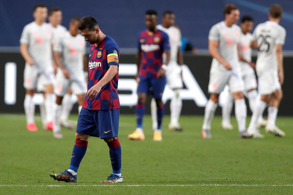 Barca thua thảm Bayern: Nỗi ám ảnh kinh hoàng