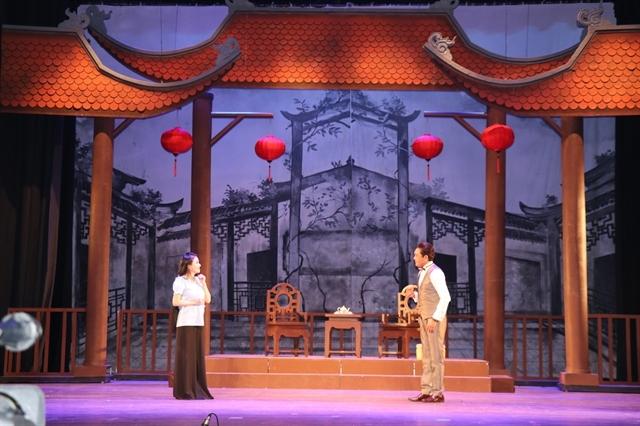 Theatre exhibit hall celebrates cai luong artists' invovement in revolutionary movement