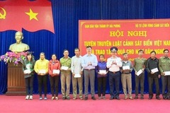 High Command of Coast Guard Region 1 actively propagate the Law on Vietnam Coast Guard