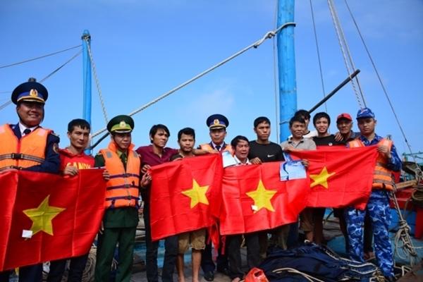 Bộ Tư lệnh Vùng Cảnh sát biển 1 đã tích cực, chủ động tuyên truyền Luật Cảnh sát biển Việt Nam