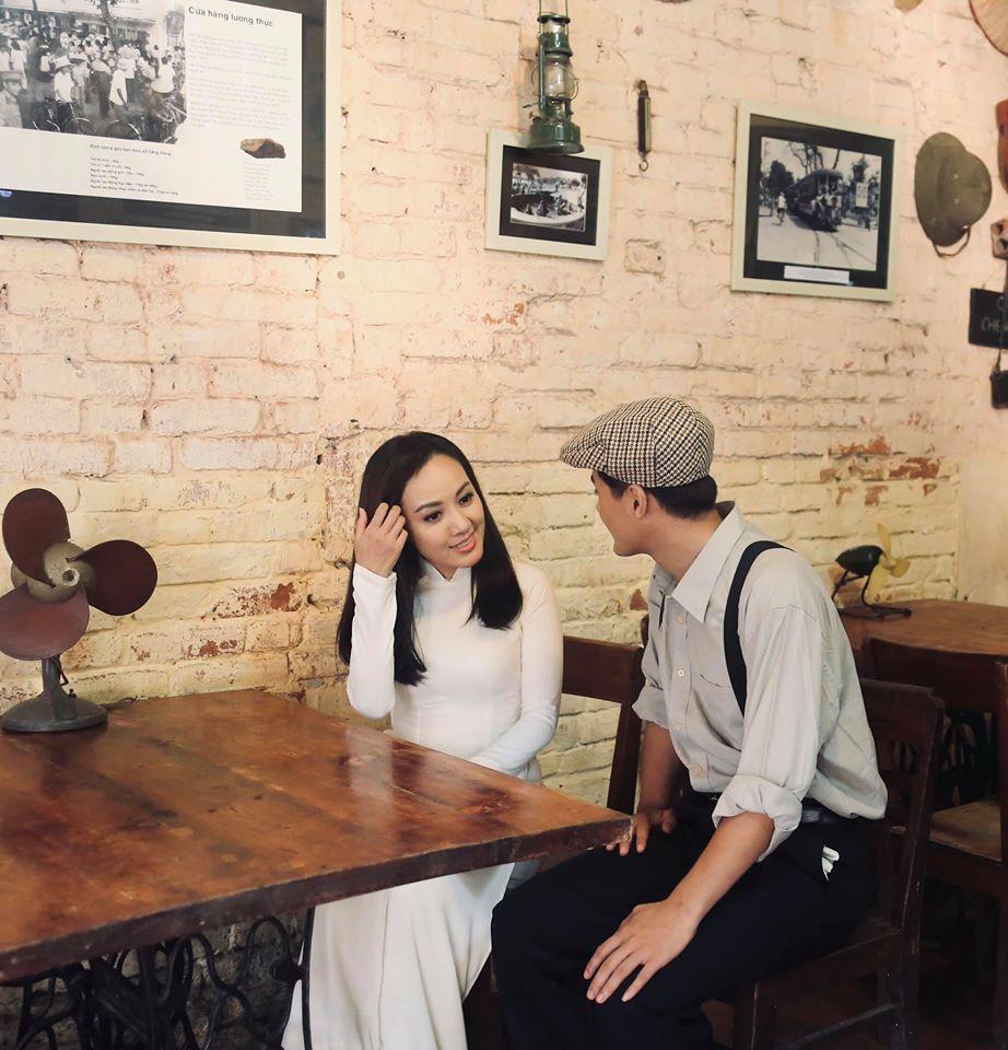 BTV Hoài Anh thời sự 19h đẹp trong trẻo, tinh khôi