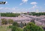 Biển người biểu tình ở Belarus phản đối Tổng thống mới tái cử