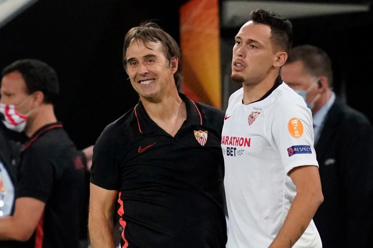 HLV Lopetegui: 'Sevilla thắng MU bằng đòn tâm lý'