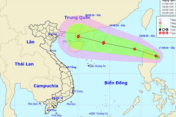 Áp thấp nhiệt đới hướng vào Biển Đông, khả năng thành bão