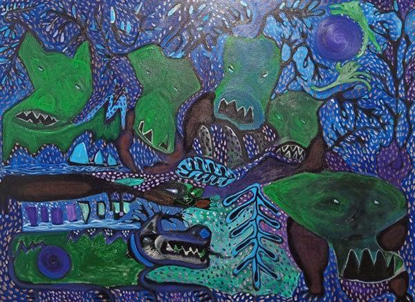 vietnam paintings,vietnam arts