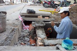 HCM City's power lines go underground