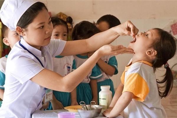 Hơn 6 triệu trẻ em dưới 5 tuổi trên cả nước được uống Vitamin A miễn phí