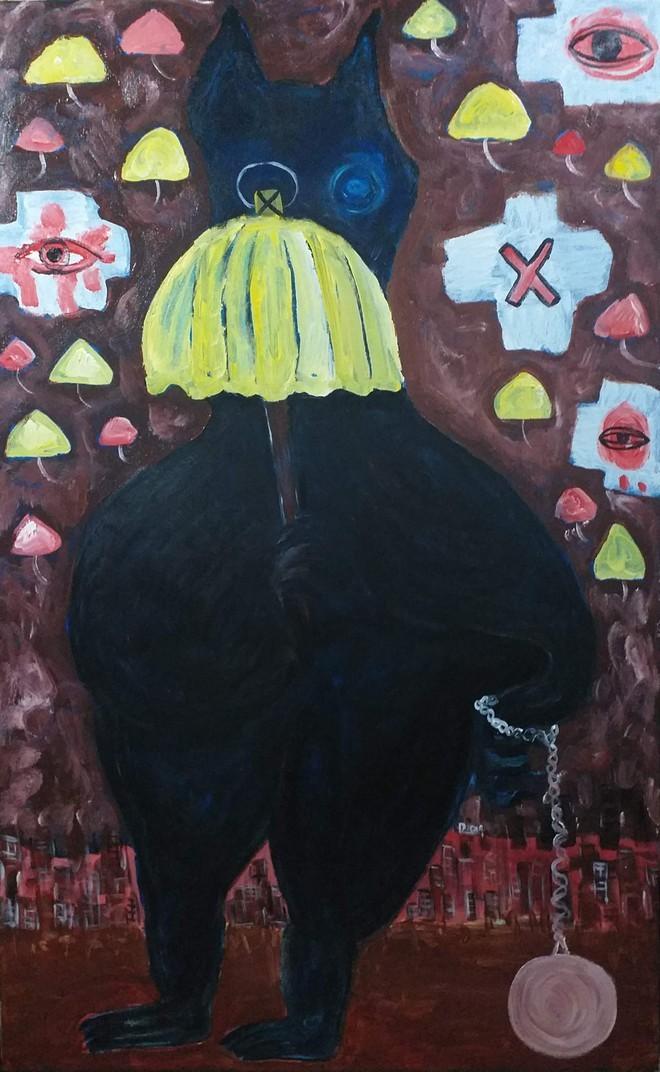 Triển lãm tranh nhằm giảm bớt sự u ám giữa mùa dịch