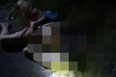 Truy tìm tài xế ô tô tông chết hai vợ chồng đứng mặc áo mưa ven đường