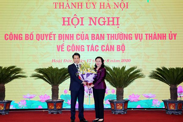 Ông Nguyễn Quang Đức làm Trưởng Ban Nội chính Thành ủyHà Nội